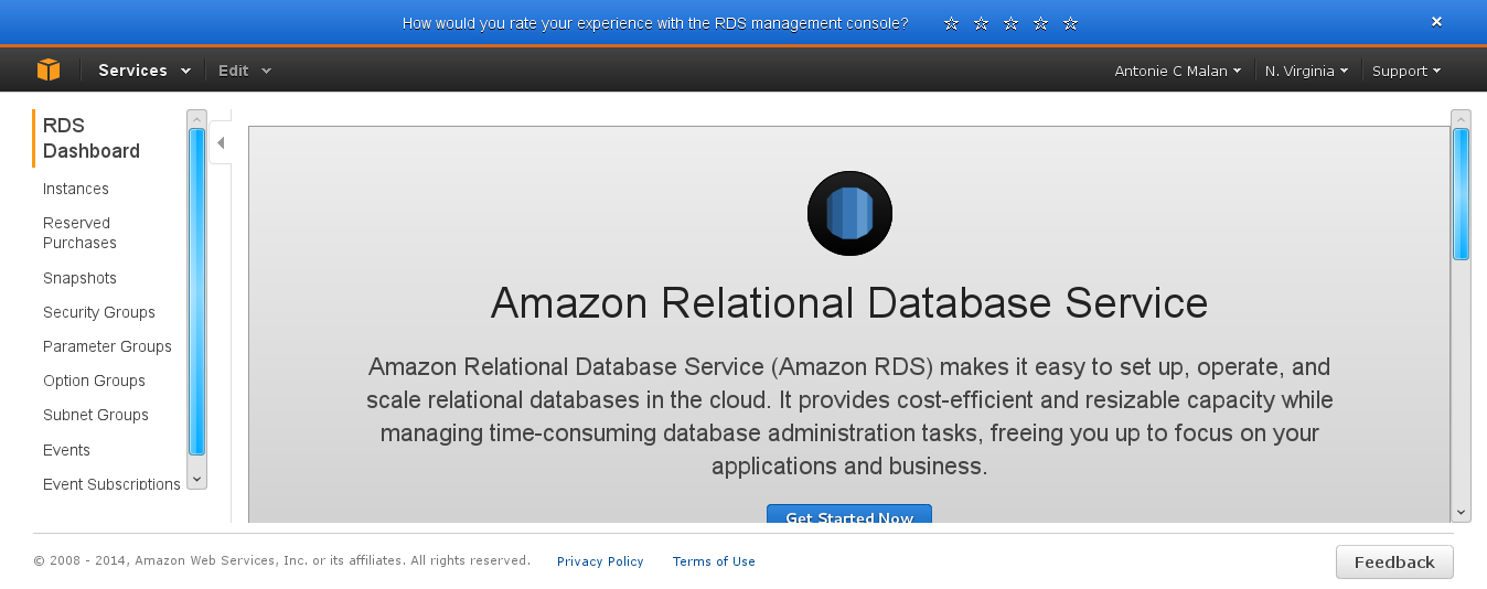 The first relational database system image